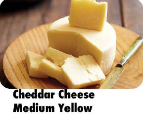 Cheddar Cheese Medium Yellow 100g