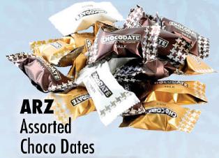 ARZ Assorted Choco Dates lb