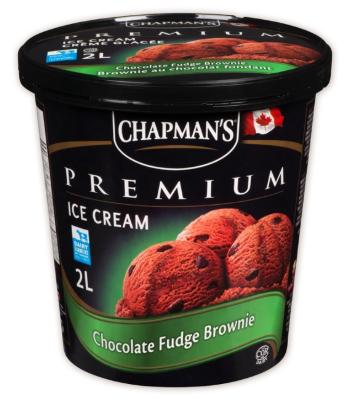 Chapman premium chocolate fudge brownie