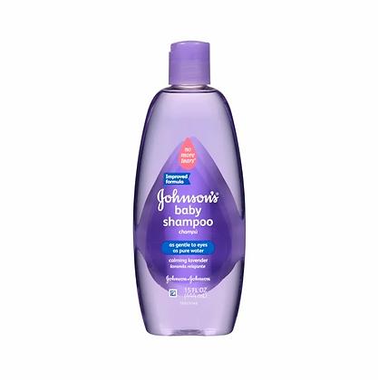 Johnson's baby shampoo (calming lavender) - 444ml