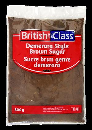 British Class Dark Brown Sugar 800g