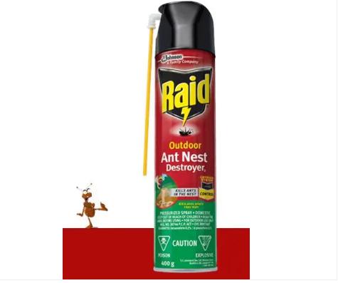 RAID® OUTDOOR ANT NEST DESTROYER 400G