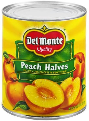 Del Monte Peach Halves In Syrup 796ml
