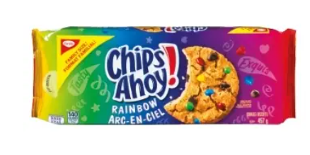 Chips ahoy raihbow
