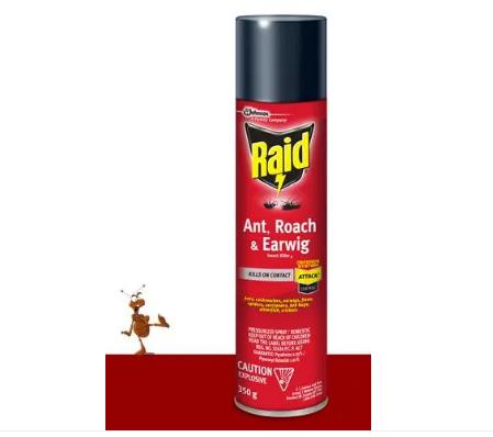 RAID® ANT ROACH & EARWIG INSECT KILLER ( 350G)