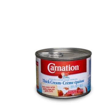 Carnation thick cream