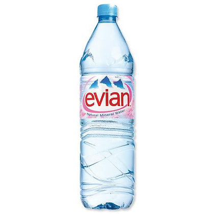 Evian Natural Spring Water 50CL