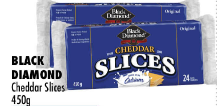 Black Diamond Cheddar Slices 450g