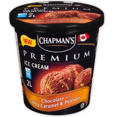 Chapman premium chocolate caramel peanut