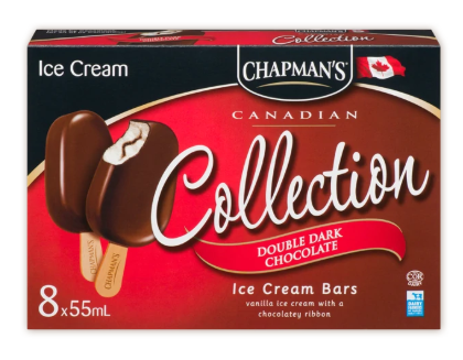 Chapman collection double dark chocolate