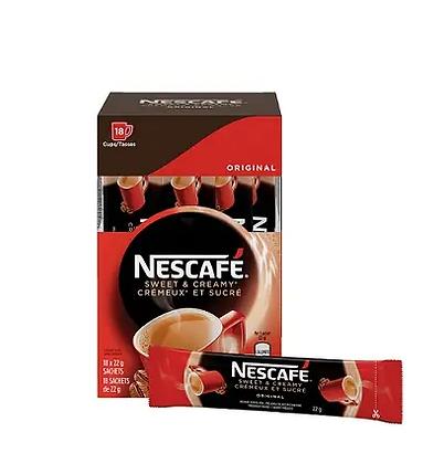 Nescafe sweet&creamy original-18X22g