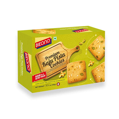 Bikano Kaju Pista Cookies (400 gm)