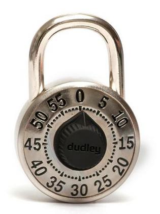 Dudley School Standard Combination Lock