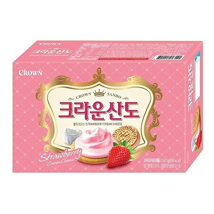 Crown Strawberry Cream Cheese Cookies 161g