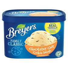 Breyers chocolate chips cookie dough