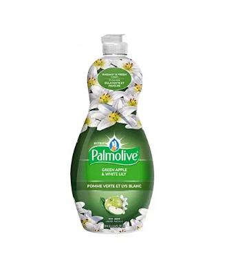 Palmolive dish liquid green apple&white lily - 591ml