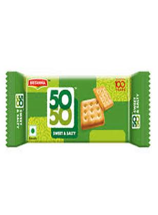 Britannia 50-50 Biscuit (62 gm)