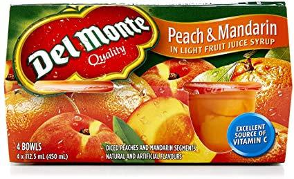 Del Monte Peach & Mandarin 450ml