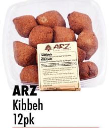 ARZ  Kibbeh 12pk