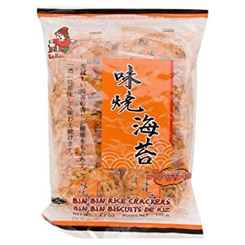 Bin Bin Spicy Seaweed Rice Crackers