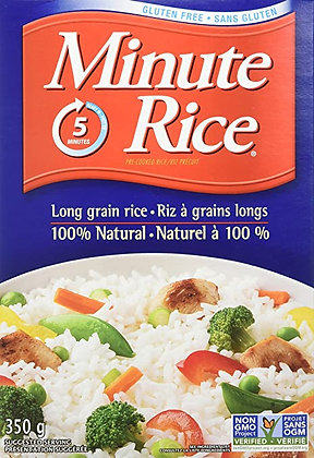 Minute Rice - Pre Cooked Long Grain RIce 350g
