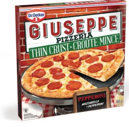 Giuseppe Pizzeria Thin Crust Pepperoni
