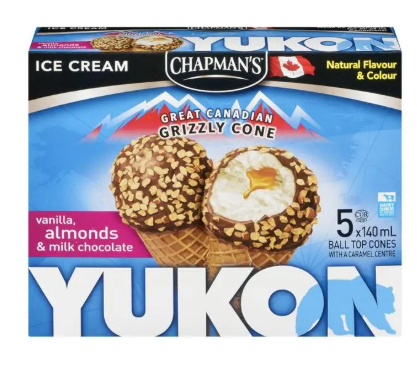 Chapman yukon vanilla almond chocolate - 5 X 140 ML