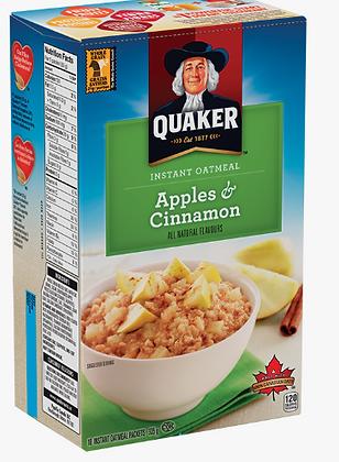 Quaker instant oatmeal apples&cinnamon - 264g