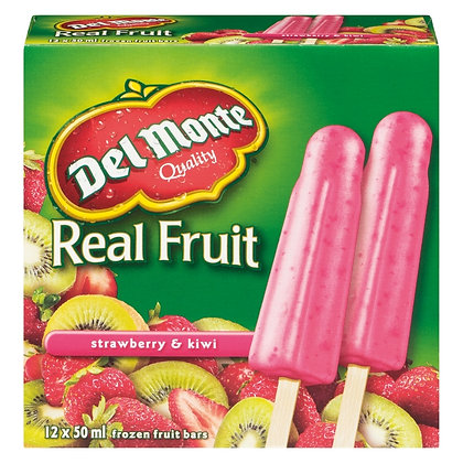 Del Monte Real Fruit & No Sugar Added 600ml