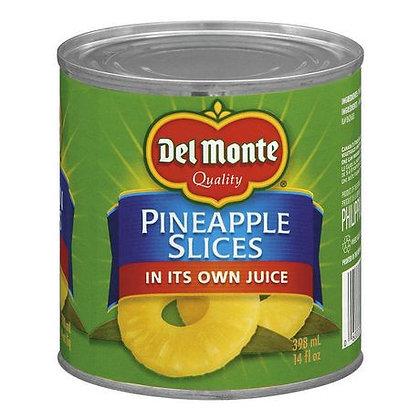 Del Monte Pineapple Slices 398ml