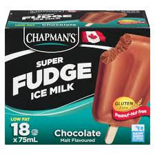 Chapman's Super Fudge Choc Matted 18*75ml