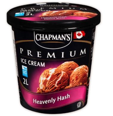 Chapman premium heavenly hash