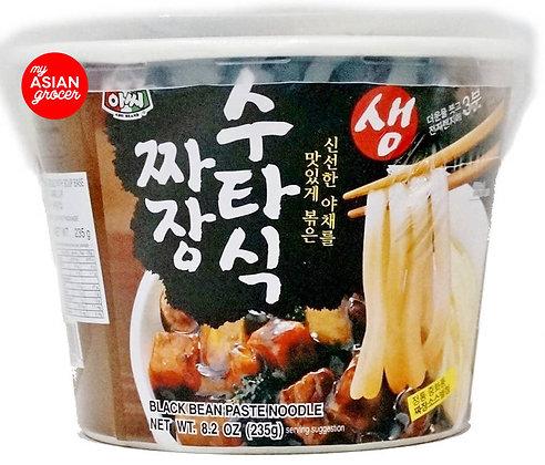 Assi Brand - Black Bean Paste Noodle 235g