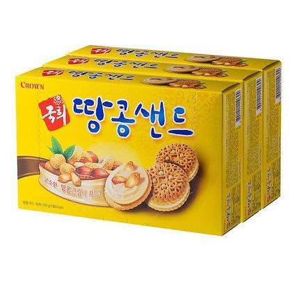 Crown Chaming Cheese Peanut Cracker 372g