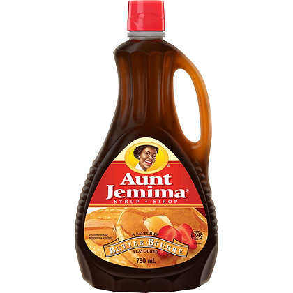 Aunt Jemima - Butter Syrup 750ml