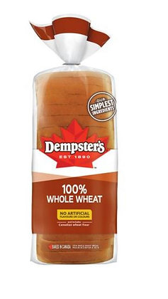 Dempster's® 100% Whole Wheat Bread