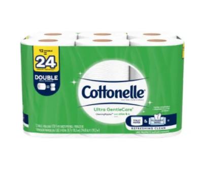 Cottonelle toilet paper- 12rolls