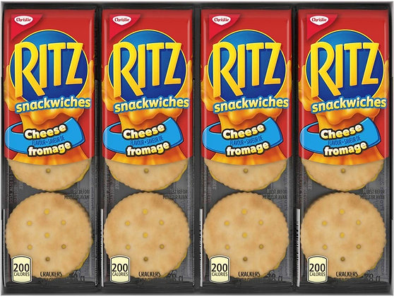 Christie Mini Ritz Crackers With Cheese 304g