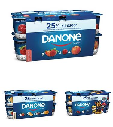 Danone Creamy Yogourt Series 100g(Pack of 16)