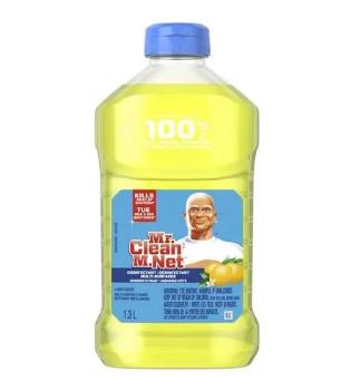 Mr.clean disinfectant multi-surfaces summer citrus - 1.3L
