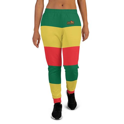 Jamaican Reggae Women's  Jah Movement Joggers