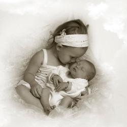 glenn en zus