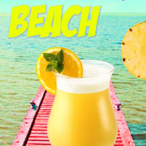 Affiche Cocktail
