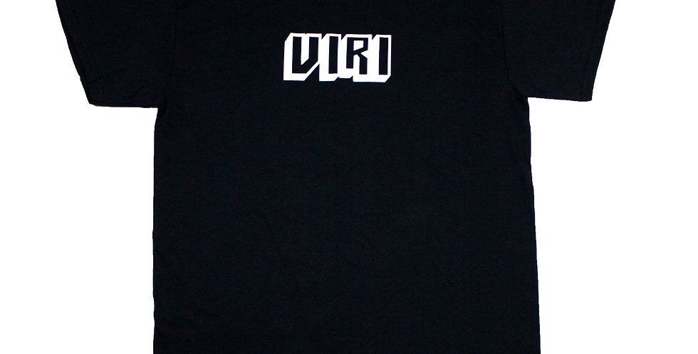 VIRI Skateboards Block Print Logo T-shirt