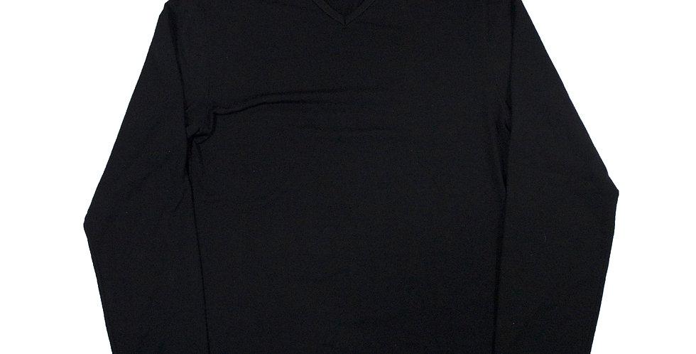 Prada V Neck Long Sleeve Top