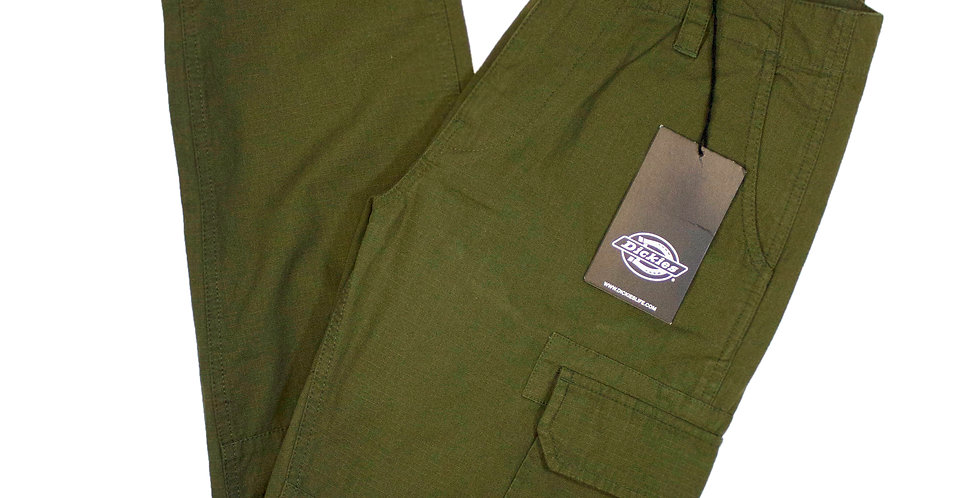 Dickies Green Cargo Trousers