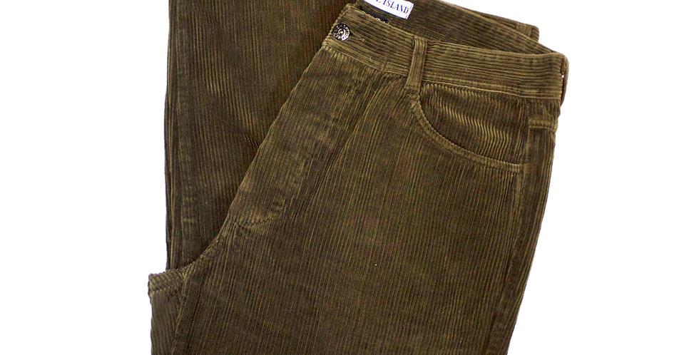 1998 Stone Island Brown Cord Trousers