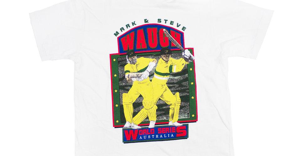 Mark & Steve Waugh World Series T-shirt
