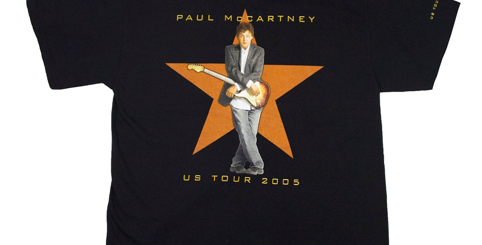 2005 Paul McCartney US Tour T-shirt
