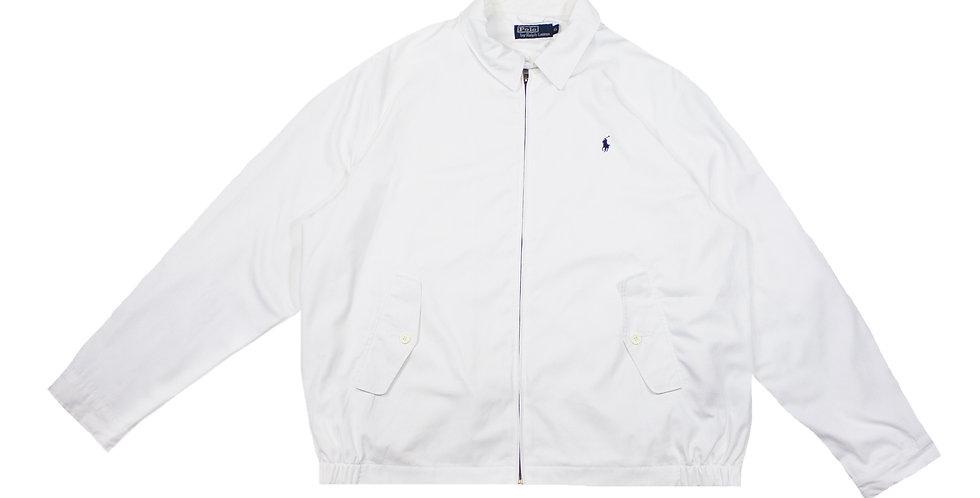 Polo Ralph Lauren White Harrington Jacket